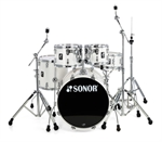 "SONOR  AQ 1 STUDIO SET  PIANO WHITE  "" NYHED"""