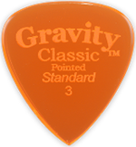 GRAVITY PICKS CLASSIC POINTED STANDARD 3