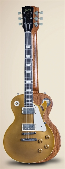 "GIBSON  Collector\'s Choice #36 Charles Daughtry\'s \'57 Goldtop aka ""Goldfinger"""