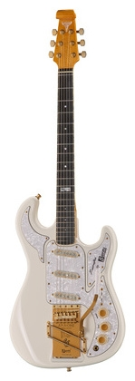 BURNS APACHE 50TH ANNIVERSARY WHITE