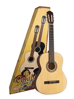 CATALUNA KLASSISK GUITAR C 80  4/4 NATUR