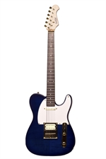 INDIE SUPER    T         TELECASTER  BLUE TRANS