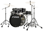 "SONOR  AQ 1 STUDIO SET  PIANO BLACK "" NYHED"""